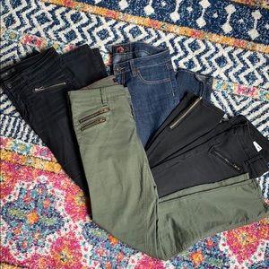 4 pair Sz 27 skinny jean bundle